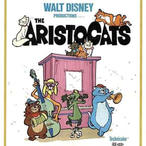 The Aristocats is listed (or ranked) 5 on the list The Best Disney Movies Starring Animals