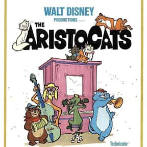 The Aristocats is listed (or ranked) 7 on the list The Greatest Animal Movies Ever Made