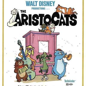 The Aristocats is listed (or ranked) 18 on the list Musical Movies With the Best Songs
