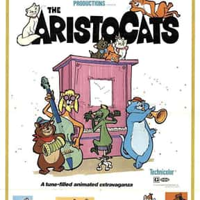 The Aristocats is listed (or ranked) 22 on the list The Best Disney Animated Movies