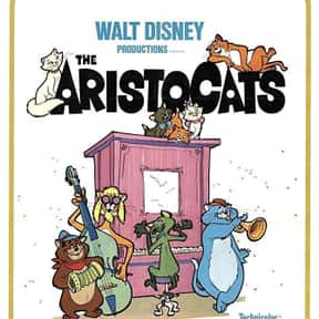 The Aristocats is listed (or ranked) 1 on the list The Best Cat Movies
