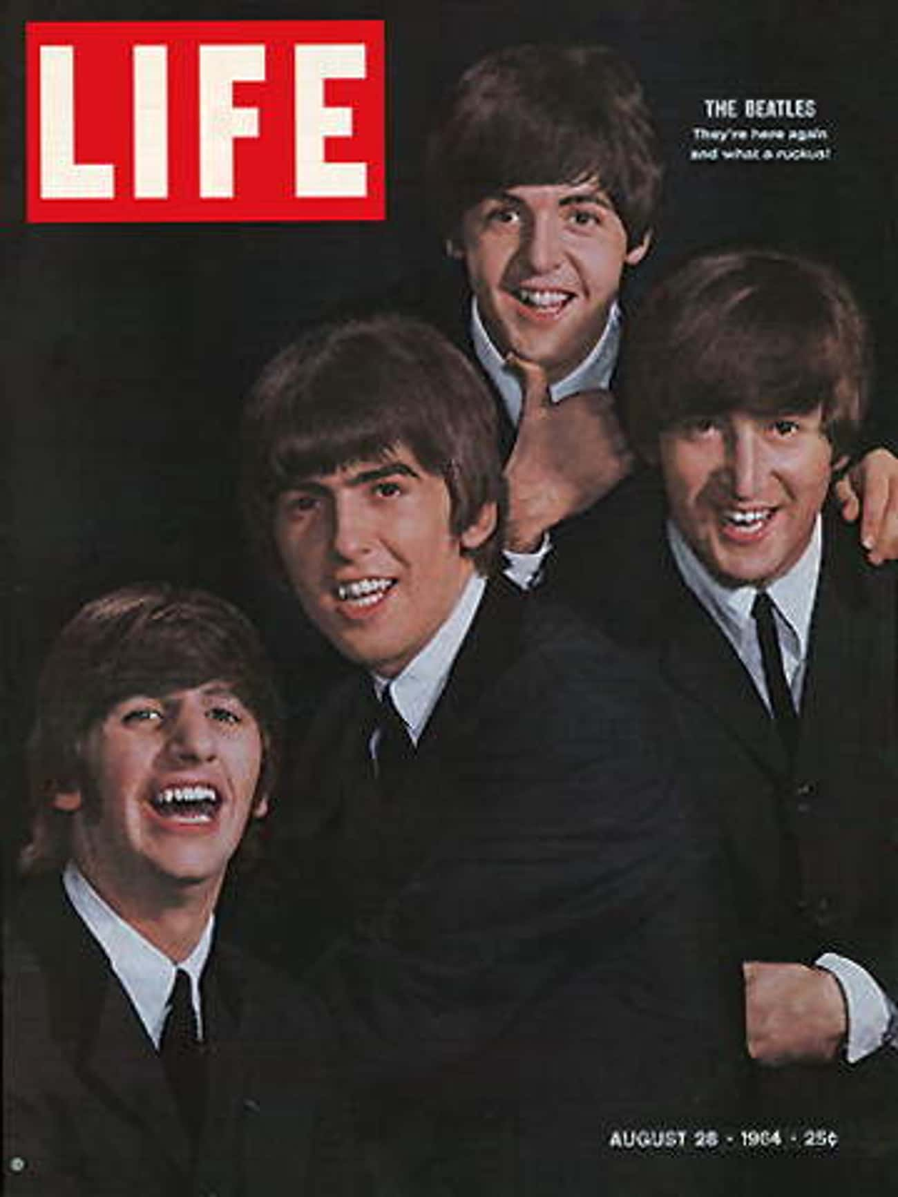 The Beatles is listed (or ranked) 2 on the list The Best Life Magazine Covers