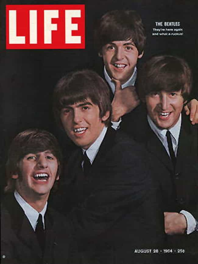 The Beatles is listed (or ranked) 1 on the list The Best Life Magazine Covers