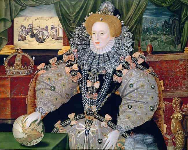 Queen Elizabeth I is listed (or ranked) 2 on the list Health Issues Throughout History That Made People Think You Were Rich