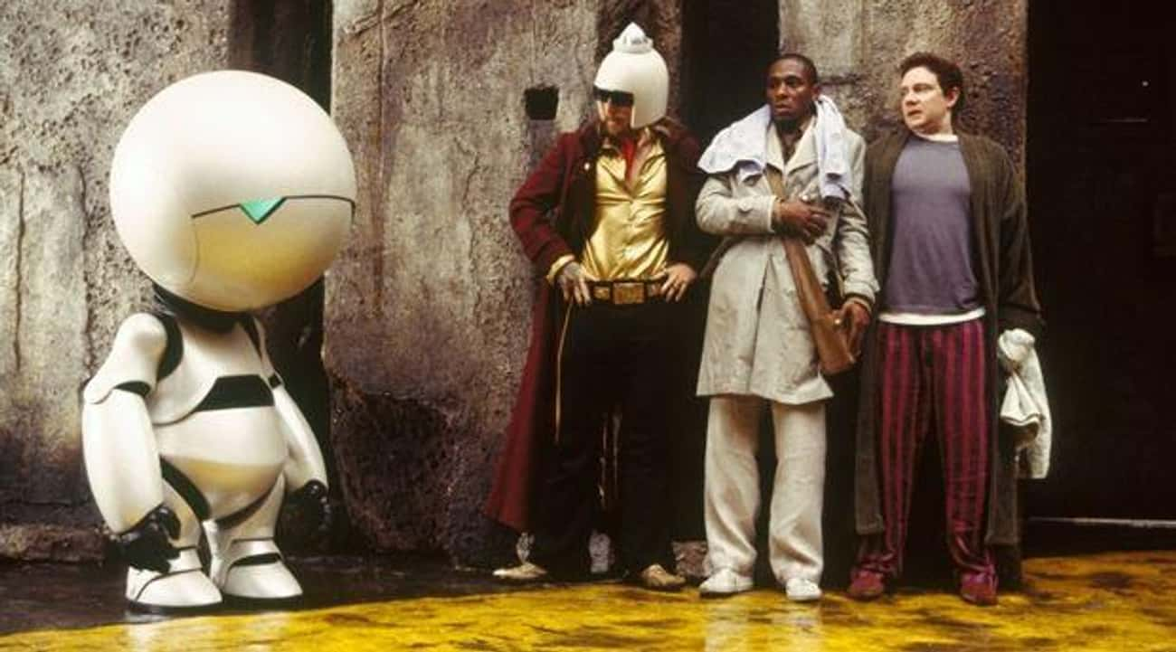 The Hitchhiker's Guide to the  is listed (or ranked) 4 on the list 20 Books That Deserve Much Better Adaptations Than They Got