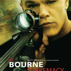 The Bourne Supremacy is listed (or ranked) 2 on the list The Best Spy Movies