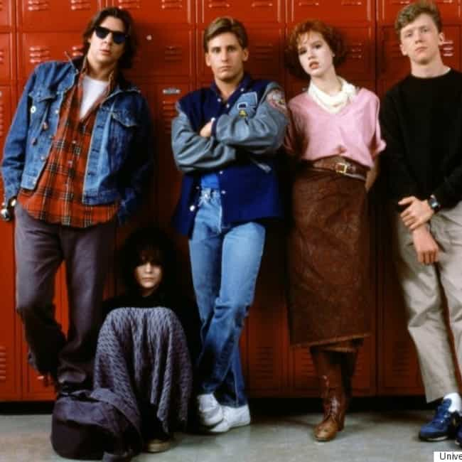 The Breakfast Club is listed (or ranked) 2 on the list The '80s Movies That Stuck with You the Most
