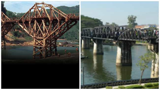 The Bridge on the River Kwai is listed (or ranked) 3 on the list The Best Oscar-Winning Movies Based on True Stories