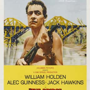 The Bridge on the River Kwai is listed (or ranked) 10 on the list The Best Oscar-Nominated Movies of the 1950s