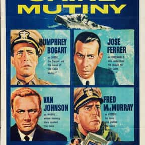 The Caine Mutiny is listed (or ranked) 19 on the list The Best Oscar-Nominated Movies of the 1950s