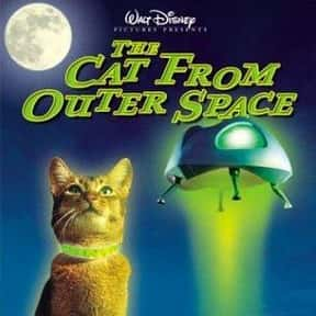 The Cat from Outer Space is listed (or ranked) 20 on the list The Best Disney Science Fiction Movies Of All Time