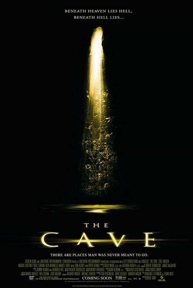 The Cave is listed (or ranked) 4 on the list Pretty Good Horror Movies That Take Place In Caves And Underground