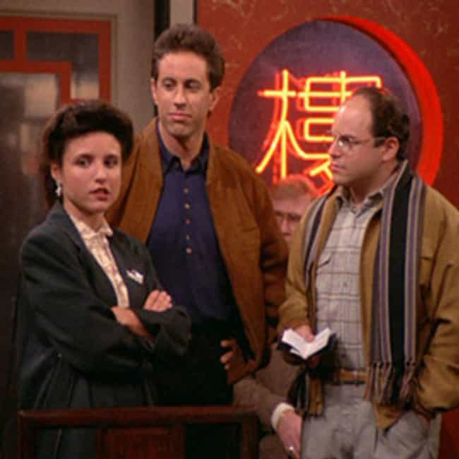 The Chinese Restaurant is listed (or ranked) 3 on the list The Best Bottle Episodes in TV History