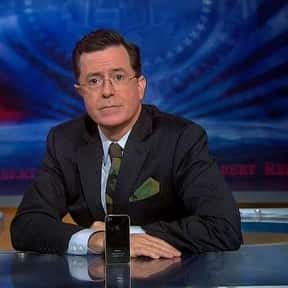 The Colbert Report is listed (or ranked) 10 on the list The Best Late Night Talk Shows of All Time