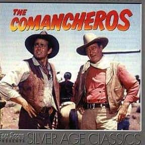 The Comancheros is listed (or ranked) 13 on the list The Greatest Western Movies of the 1960s