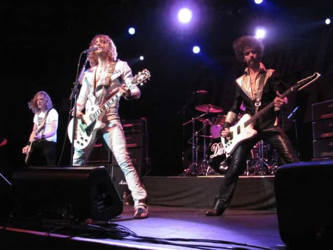 The Darkness is listed (or ranked) 4 on the list Every Time Brothers Formed A Band Ranked From Peaceful To Post-Nuclear