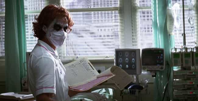 The Dark Knight is listed (or ranked) 4 on the list 14 Times Characters Used Embarrassingly Bad Disguises In Movies
