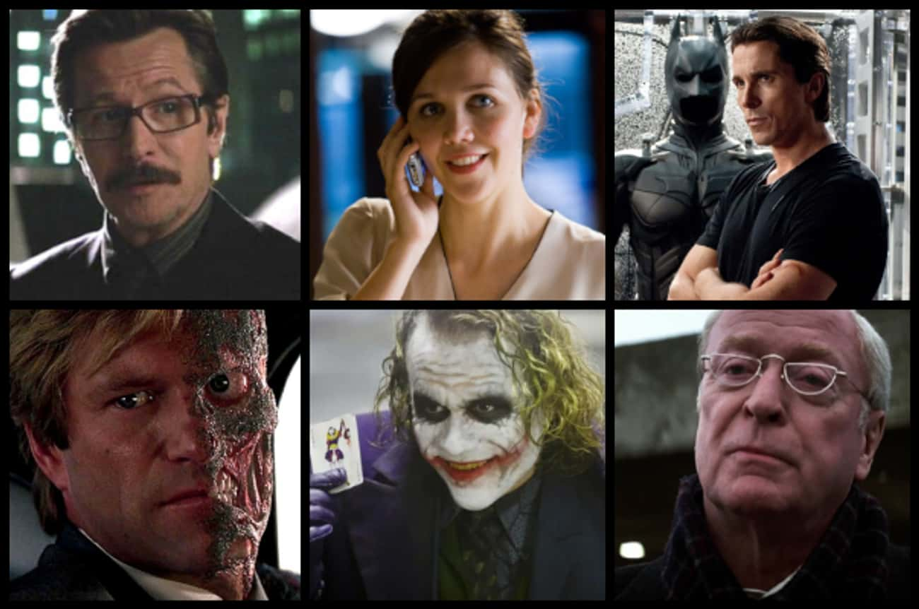 The Dark Knight is listed (or ranked) 3 on the list What Are The Best Superhero Movie Casts Ever Assembled?