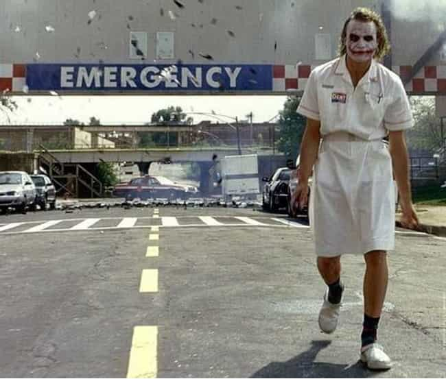 The Dark Knight is listed (or ranked) 1 on the list Famous Movie Scenes That Needed Only One Take