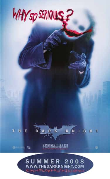 The Dark Knight is listed (or ranked) 2 on the list Incredible Hidden Details In Sci-Fi Movie Posters