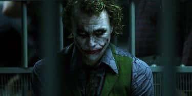 Heath Ledger Playing The Joker In 'The Dark Knight'
