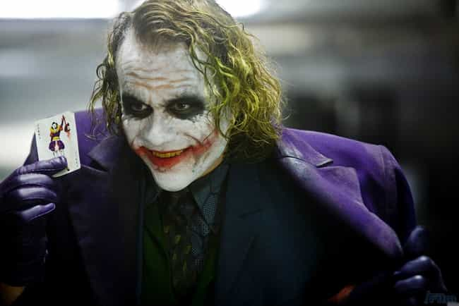 The Dark Knight is listed (or ranked) 6 on the list Great Films That Get Away With Not Explaining Things