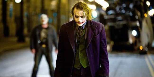 The Dark Knight is listed (or ranked) 1 on the list Every Movie And TV Joker Costume, Ranked