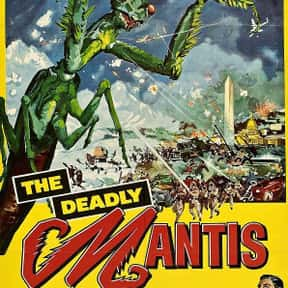 The Deadly Mantis is listed (or ranked) 7 on the list The Best Horror Movies About Killer Insects