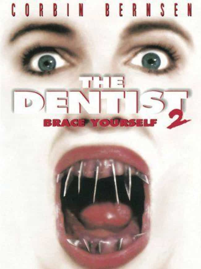 The Dentist 2 is listed (or ranked) 4 on the list The Most Pun-Tastic Horror Movie Taglines