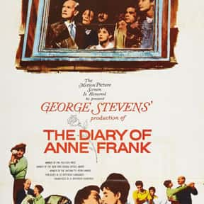 The Diary of Anne Frank is listed (or ranked) 11 on the list The Best Oscar-Nominated Movies of the 1950s