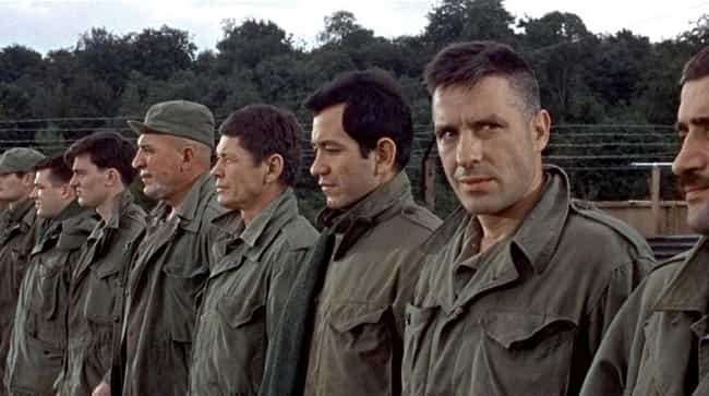The Dirty Dozen is listed (or ranked) 7 on the list The 15 Best Movies About Suicide (or Seemingly Suicidal) Missions