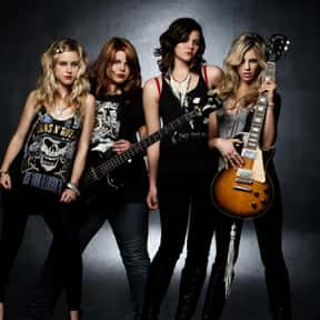 The Donnas is listed (or ranked) 17 on the list The Greatest Chick Rock Bands Ever