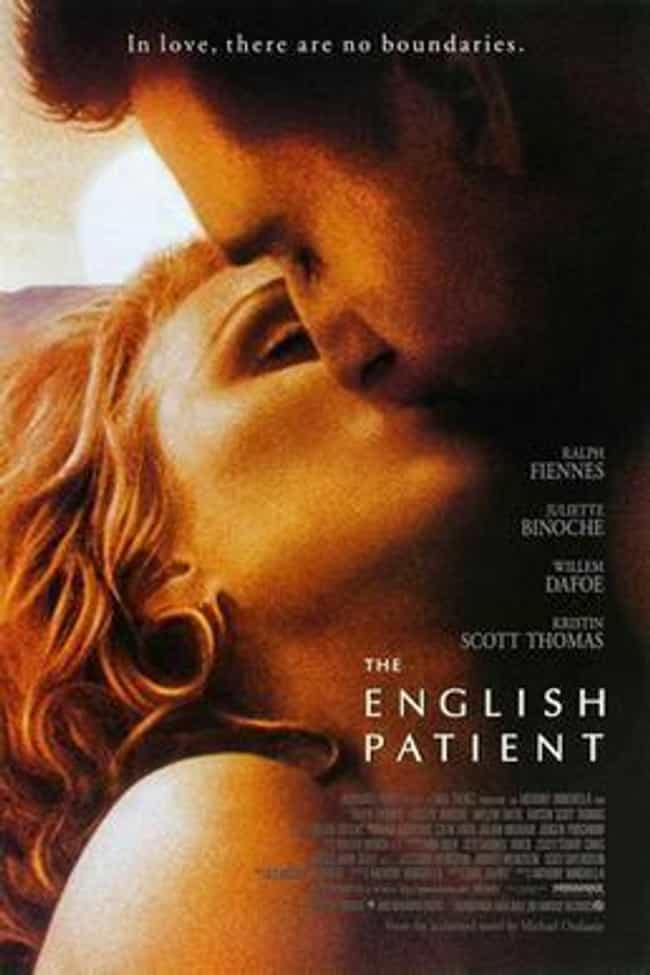 The English Patient is listed (or ranked) 2 on the list The Most Offensive Best Picture Oscar Wins