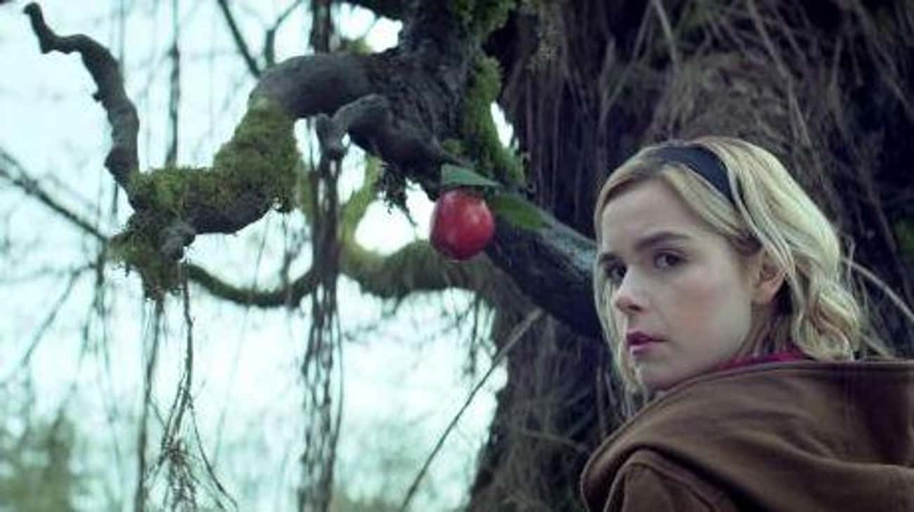 The Tree References 'The Evil  is listed (or ranked) 3 on the list The Best Parts Of 'Chilling Adventures Of Sabrina' Are Ripped Straight From Horror Properties