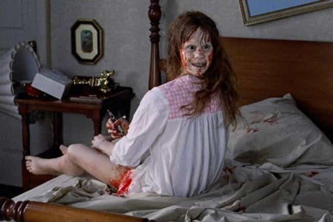 The Exorcist is listed (or ranked) 1 on the list The Most Disturbing Horror Movie Scene From The Year You Were Born