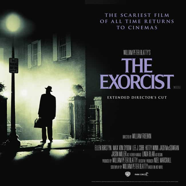 The Exorcist is listed (or ranked) 3 on the list The Most Terrifying Horror Movies That Are Based on Books