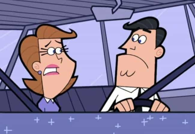 The Fairly OddParents is listed (or ranked) 4 on the list The Objectively Worst Cartoon Parents