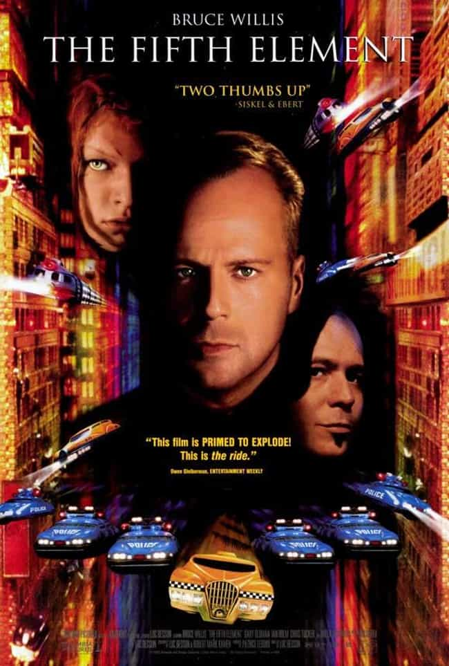 The Fifth Element is listed (or ranked) 4 on the list The Best Charlie Creed-Miles Movies
