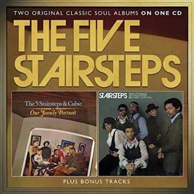 The Five Stairsteps is listed (or ranked) 6 on the list The Best Chicago Soul Bands/Artists