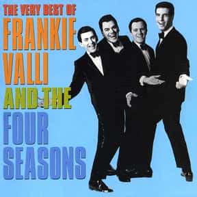 The Four Seasons is listed (or ranked) 7 on the list The Greatest Pop Groups & Artists of All Time