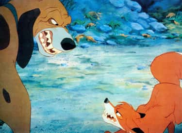 The Fox and the Hound is listed (or ranked) 1 on the list The Saddest Movies In Which No One Actually Dies