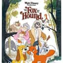 The Fox and the Hound is listed (or ranked) 18 on the list The Greatest Animal Movies Ever Made