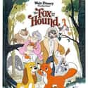 The Fox and the Hound is listed (or ranked) 7 on the list The Greatest Dog Movies of All Time