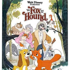 The Fox and the Hound is listed (or ranked) 3 on the list Animated Movies That Make You Cry the Most