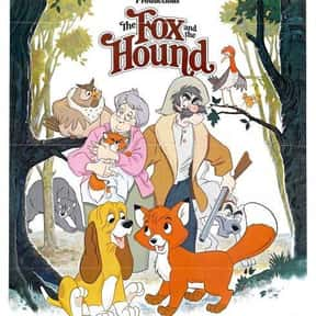 The Fox and the Hound is listed (or ranked) 6 on the list The Best Disney Movies Starring Animals