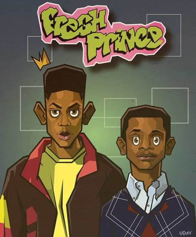 The Fresh Prince of Bel-Air is listed (or ranked) 7 on the list What Your Favorite Sitcoms Would Look Like as Cartoons
