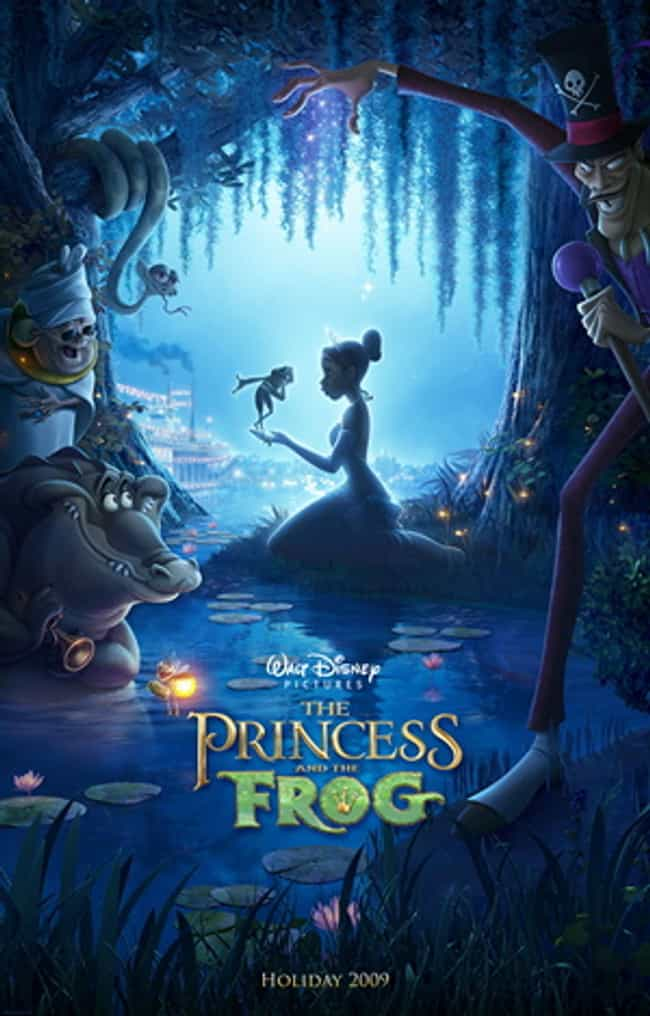 The Princess and the Fro... is listed (or ranked) 2 on the list The Most Inspiring Movie / Film / Animation for the Black Child