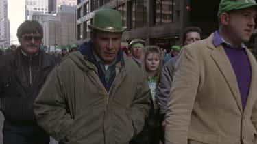 Harrison Ford Blended Into The Real St. Patrick's Day Parade In Chicago While Filming 'The Fugitive'
