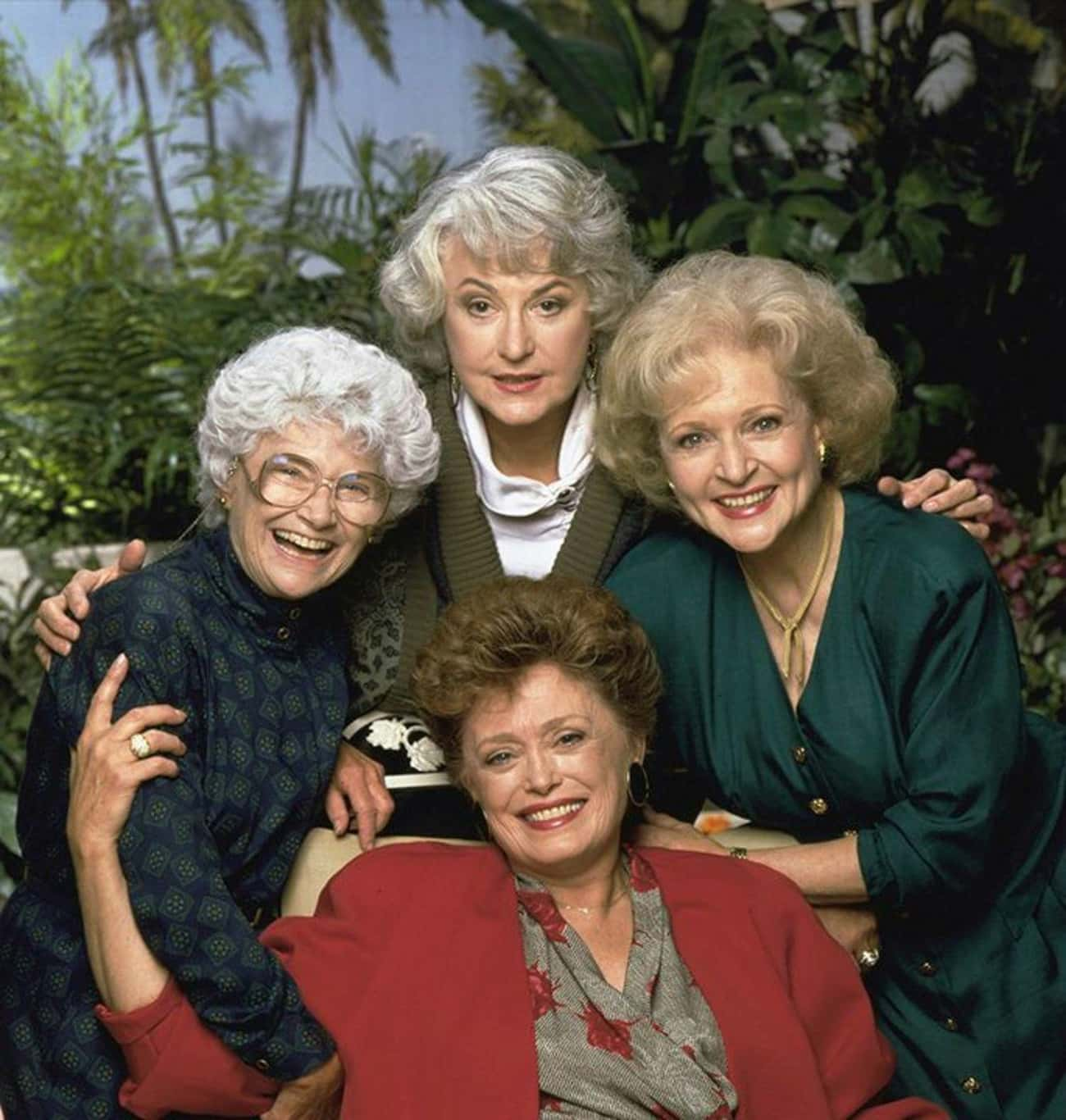 The Golden Girls is listed (or ranked) 1 on the list The Greatest TV Shows About Retirement