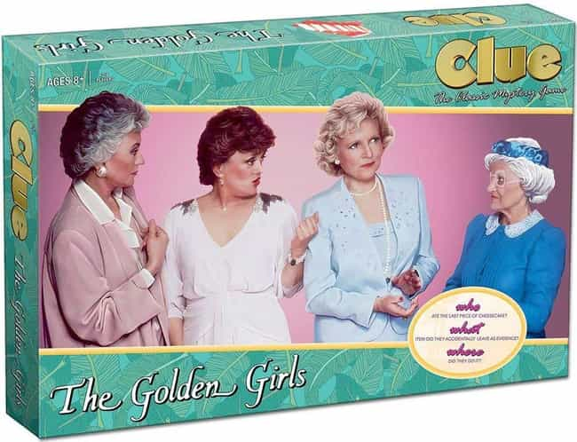 The Golden Girls is listed (or ranked) 2 on the list The Best Editions of Clue